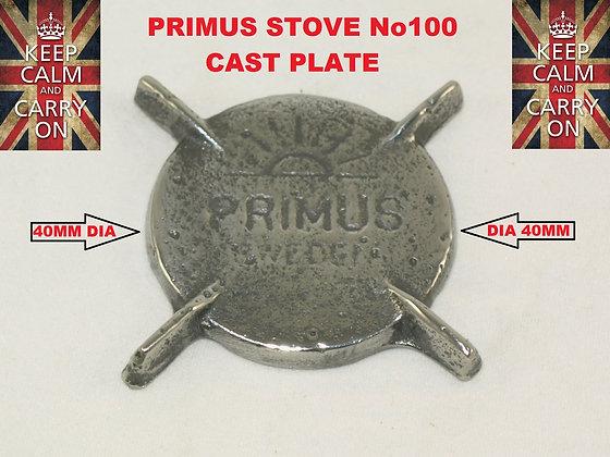 PRIMUS STOVE No100 CAST PLATE