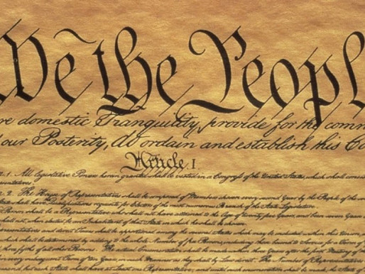 A Constitutional Issue (But Not THAT Constitutional Issue)