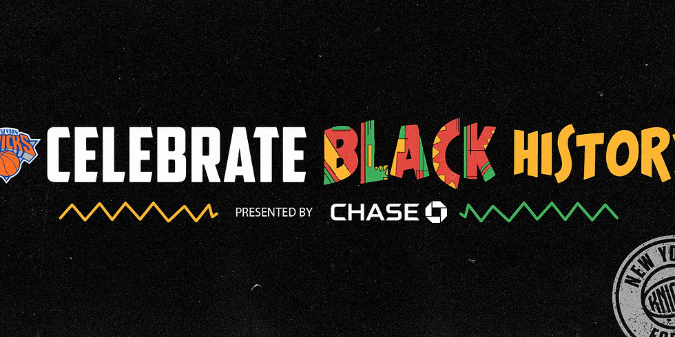 New York Knicks Black History Month - Generational Wealth Conversation, Presented by Chase