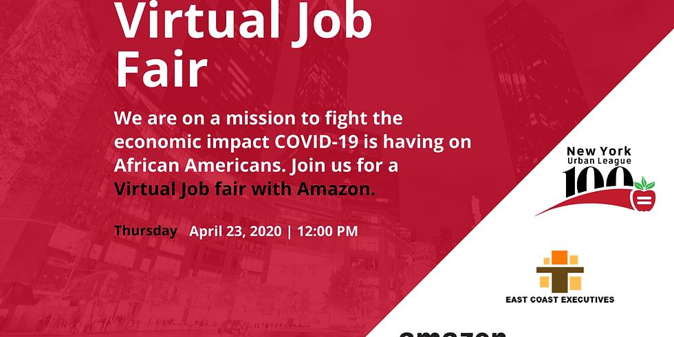 Virtual Job Fair with Amazon