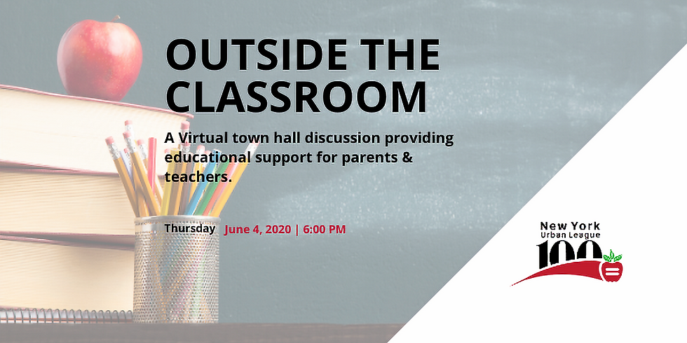 Virtual Town Hall:  Outside the Classroom