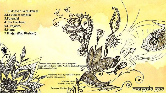 Ilustración Disco Mangala Gao
