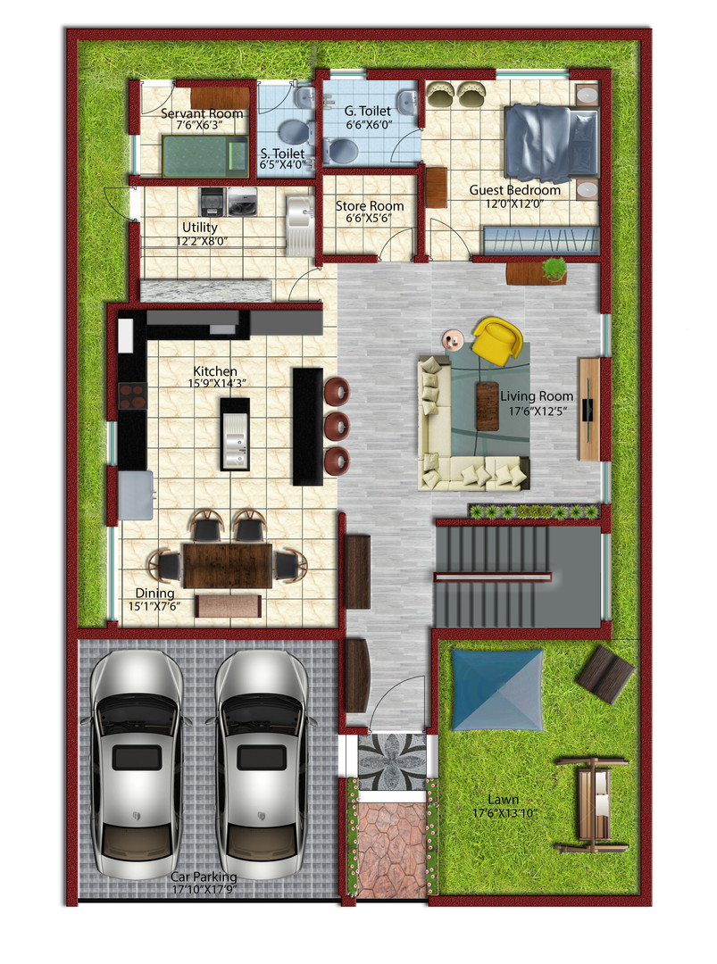 Residence Project Autocad-Model Grnd.jpg
