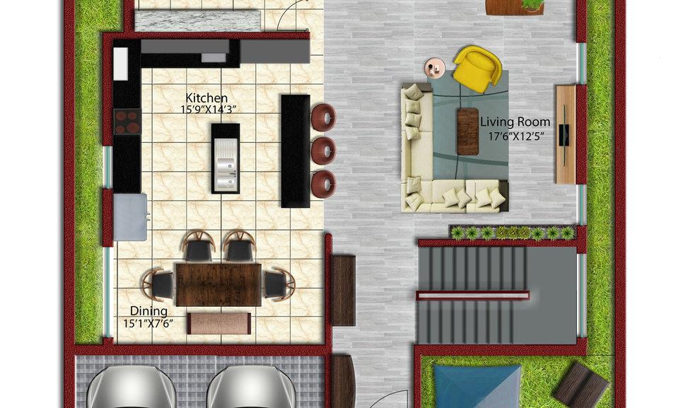 Residence Project Autocad-Model Grnd.jpg