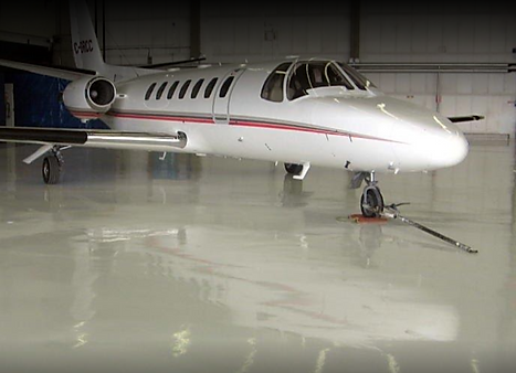 Aviation Hanger Floor Coating