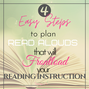4 Easy Steps to Plan Read Alouds That Will Frontload Your Instruction