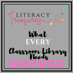 What EVERY Classroom Library Needs