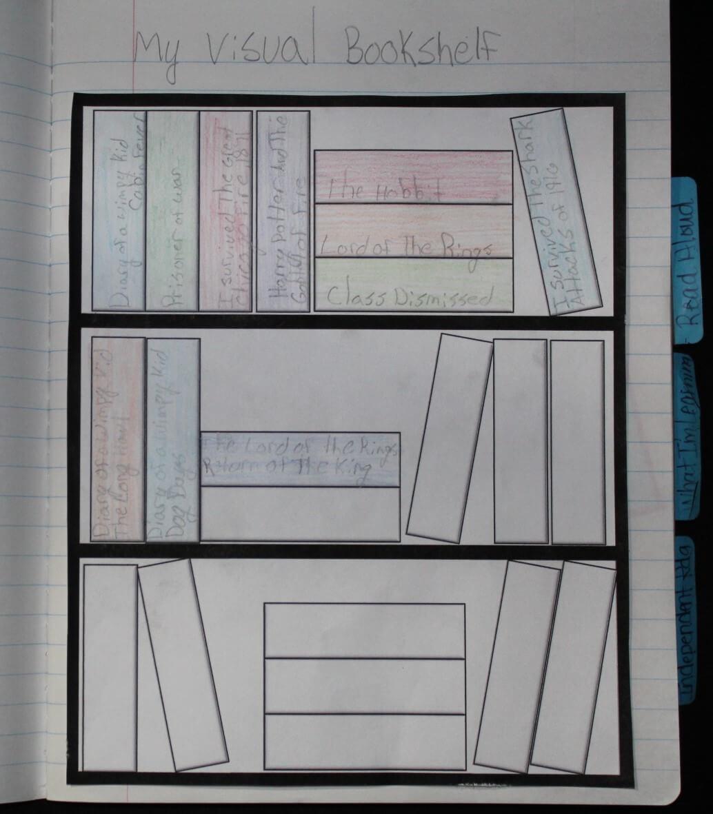 Visual Bookshelf