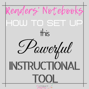 Reader's Notebook:  How to Set Up This Powerful Instructional Tool