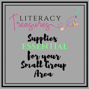 Supplies ESSENTIAL for your Small Group Area