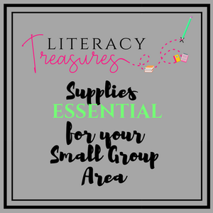 Essential Supplies for your Small Group Area