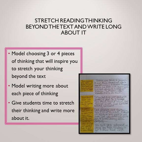 Writing Longer About Your Thinking