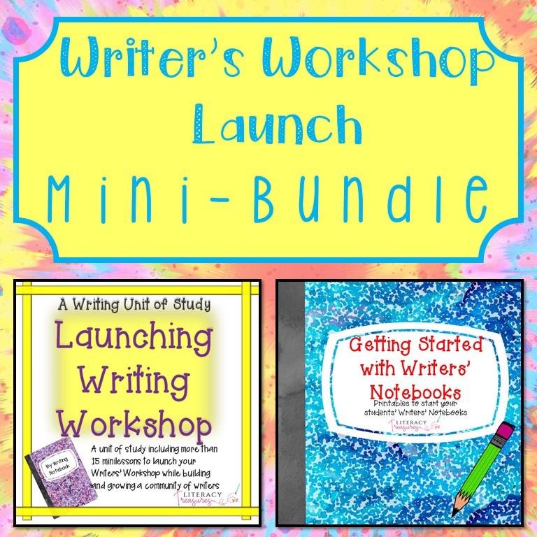 Writer's Workshop Launch Mini Bundle