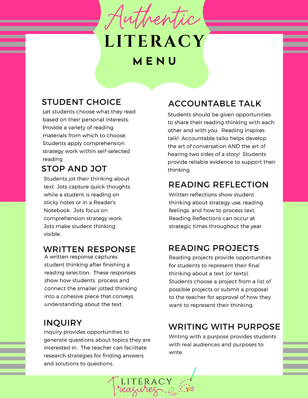 - Authentic Literacy Experiences Every Classroom Needs--No Worksheets Ne