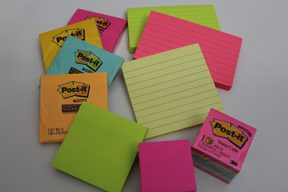 Sticky Notes for Exit Tickets