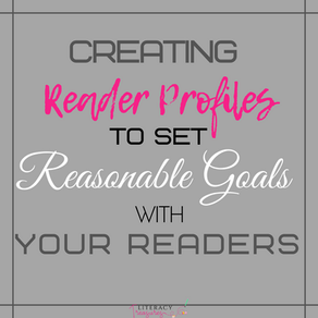 Creating Reader Profiles to Set Reasonable Goals With Your Readers