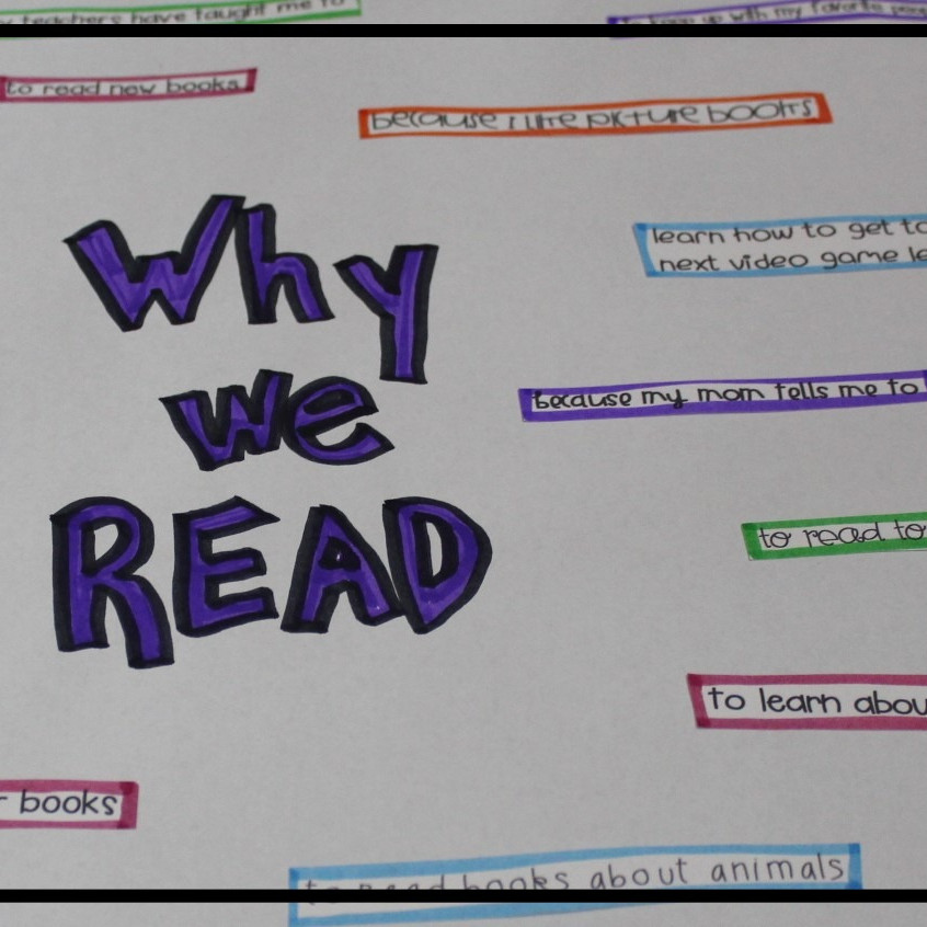 why we read anchor chart