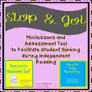 Stop and Jot Minilessons and Assessment Tool