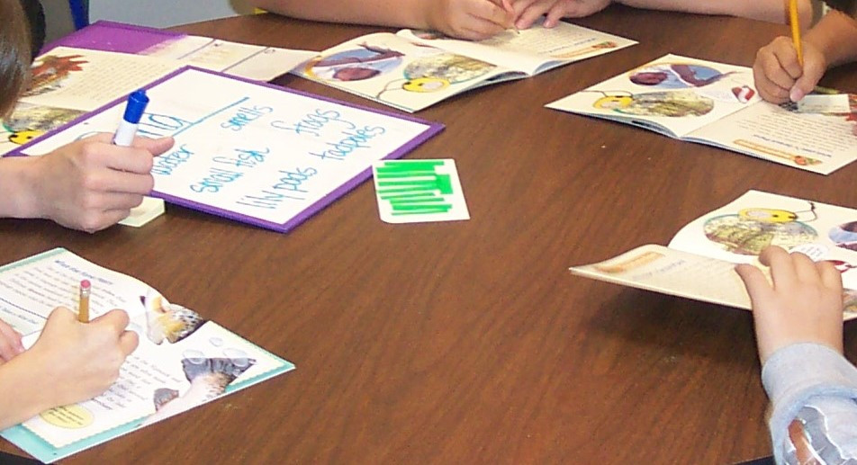 Guided Reading Student Work