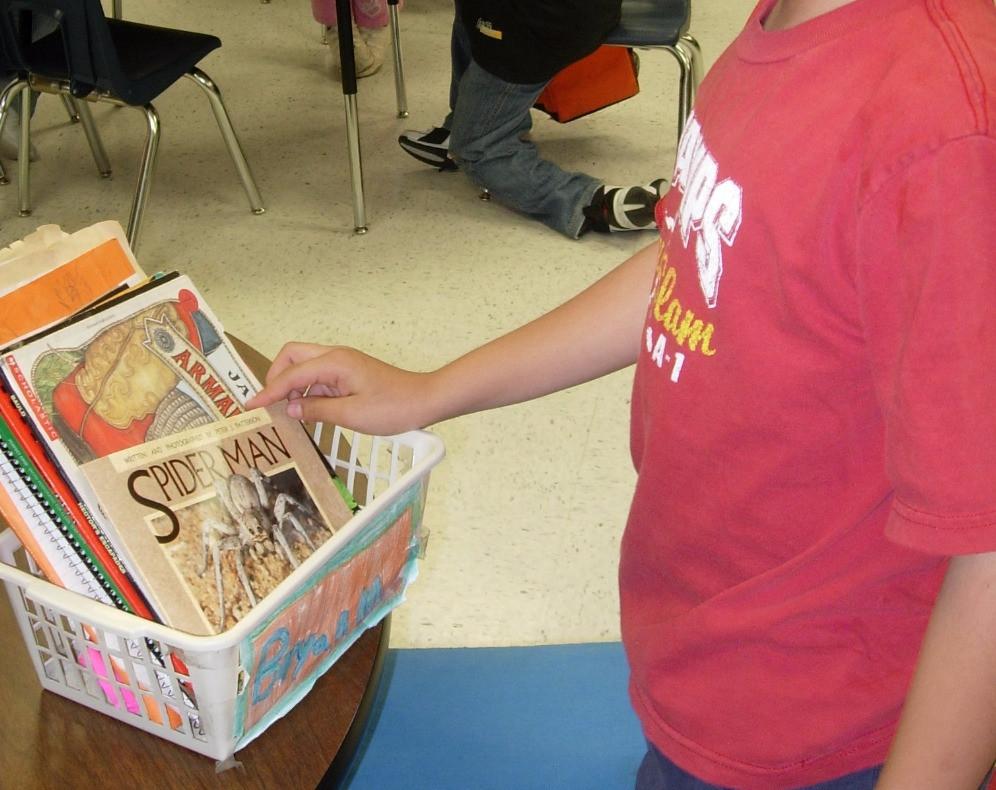 Book Basket in Readers Workshop