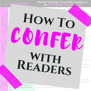 How To Confer With Readers