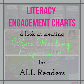 LITERACY ENGAGEMENT CHARTS: A Look At Creating Close Reading Experiences For ALL Readers