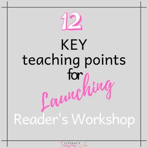 12 Key Teaching Points for Launching Readers Workshop