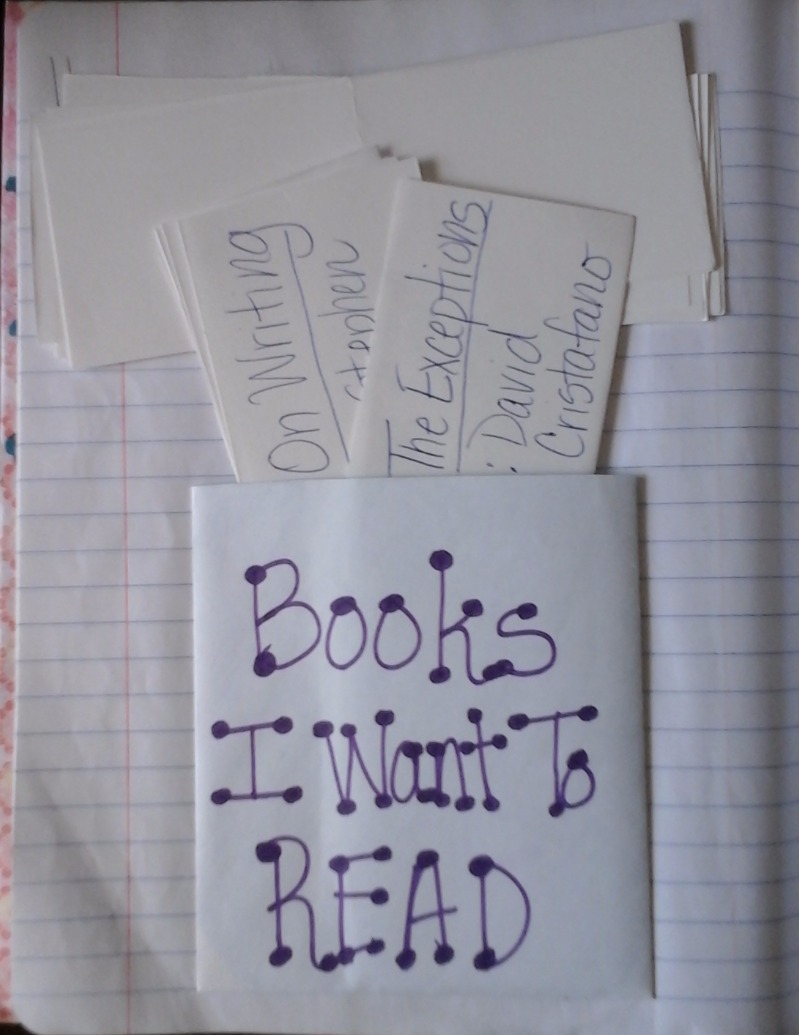 A Reading Wish List