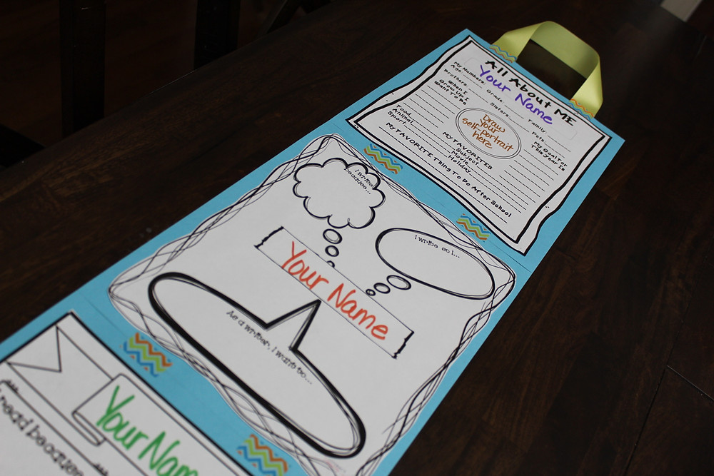 Student All About Me Banner