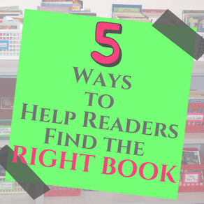 5 Ways to Help Readers Find the RIGHT Book