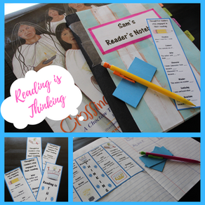 Reading is Thinking Bookmarks