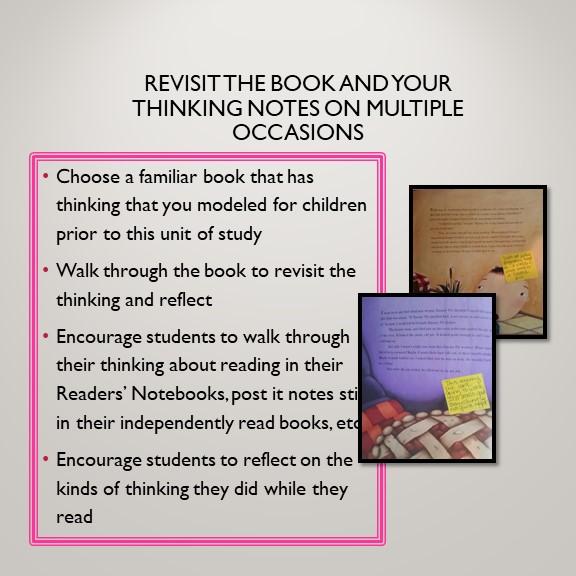 Revisiting Reading Thinking