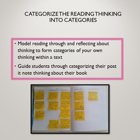 Categorize Your Thinking Notes