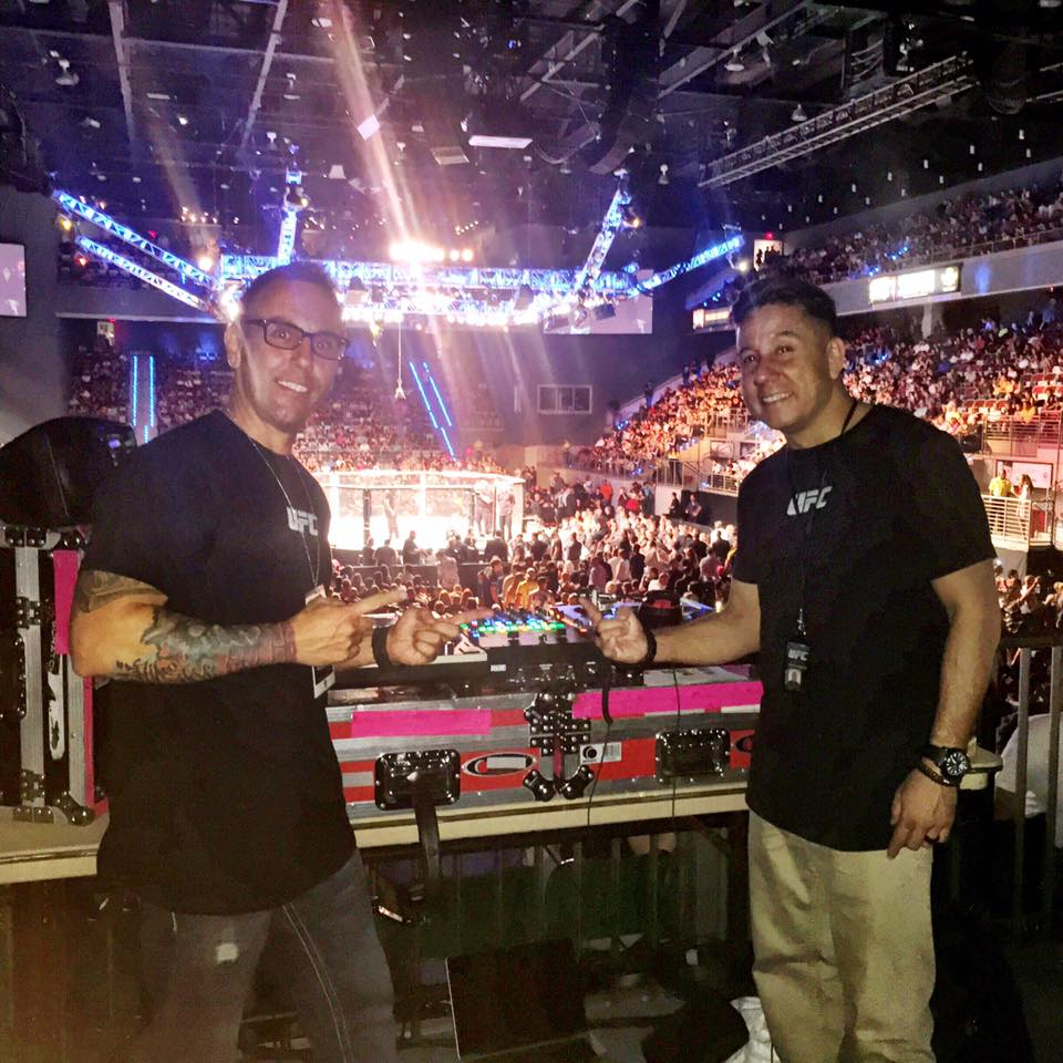 UFC DJ AL3 and Bobby G