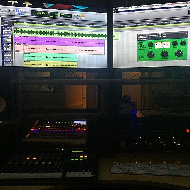 Control Room Bobby G Studios