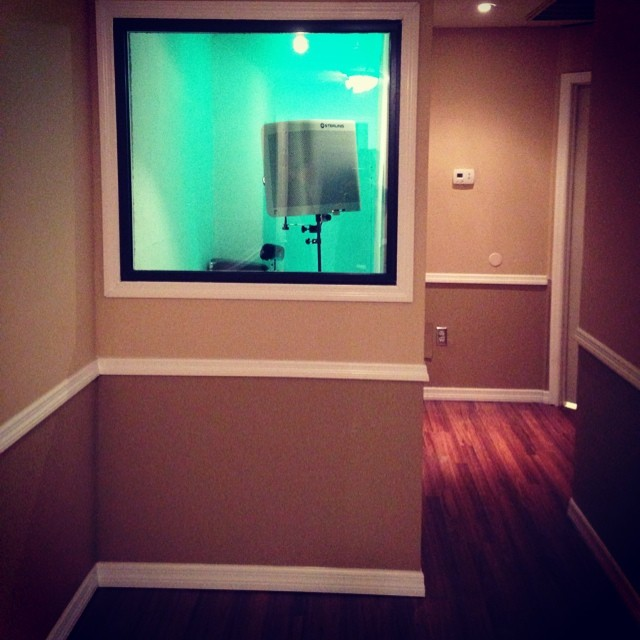 Vocal Booth Bobby G Studios