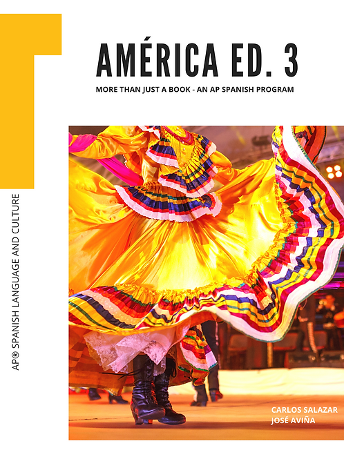 América, 3rd Edition – Yearly Digital Student License