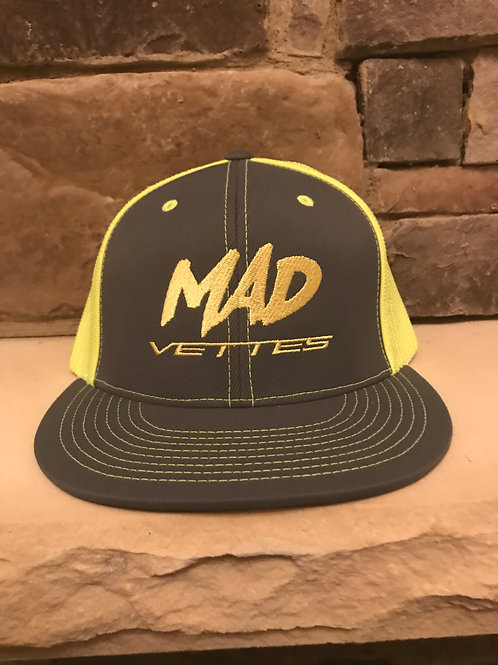 Fitted Mesh Graphite/Neon Yellow MAD Vettes