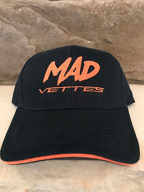 Brushed Twill Black/Orange Yellow MAD Vettes