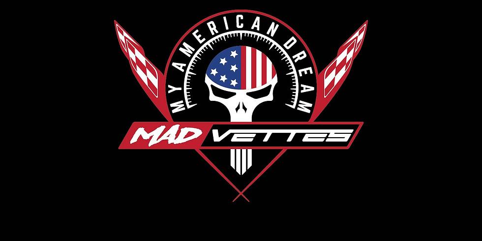 MY AMERICAN DREAM CORVETTE & CAMARO MADNESS SHOW 2K18