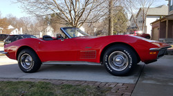 Red Convertible Vette