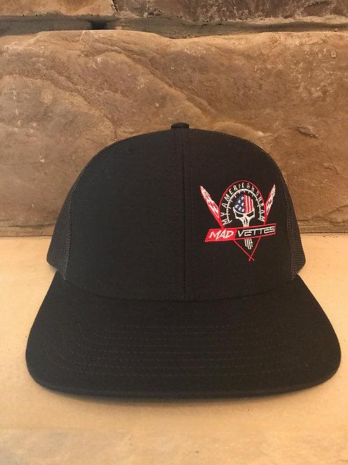 Black MAD Vettes- My American Dream Logo Hat