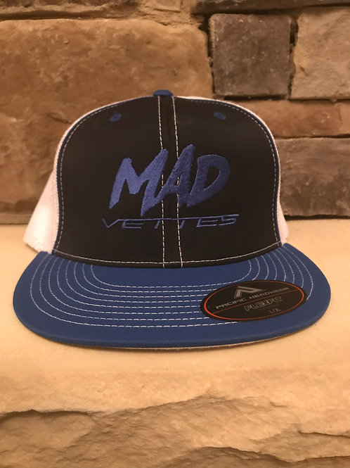 Fitted Mesh Black/Royal MAD Vettes