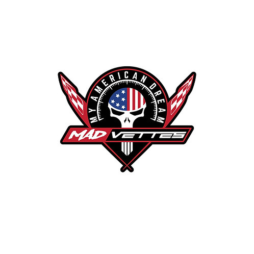 MAD Vettes Decal 4-Color - Punisher