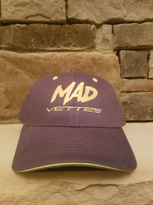 Brushed Twill Graphite/Neon Yellow MAD Vettes Hat