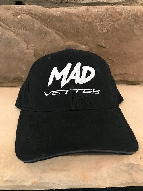 Brushed Twill Black MAD Vettes