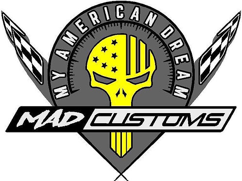 MAD Customs Decal