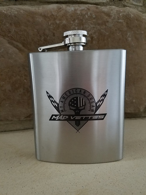 Stainless Steel Hip Flask 7 oz