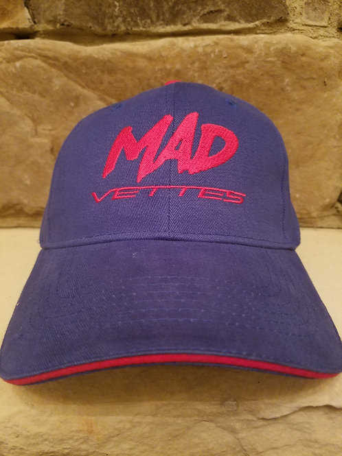 Brushed Twill Royal Blue/Red MAD Vettes