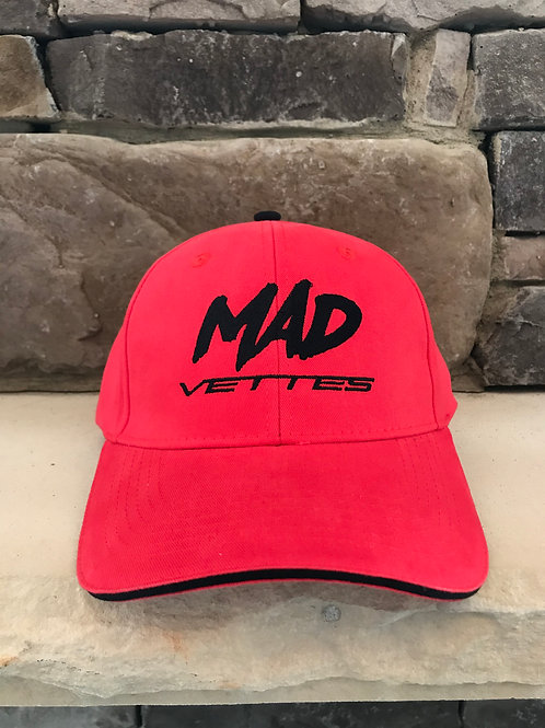 Brushed Twill Red/Black MAD Vettes